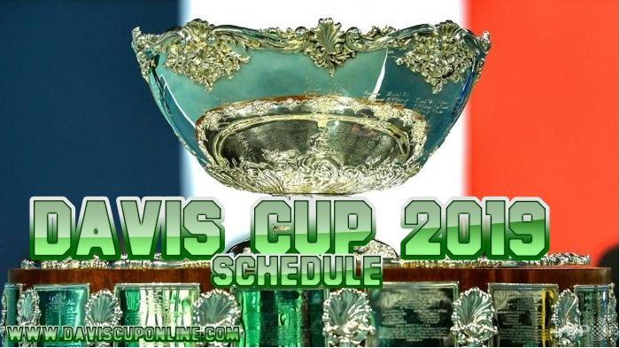 2019 Davis Cup Tennis Schedule