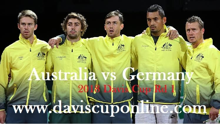 Australia vs Germany 2018 Davis Cup Live