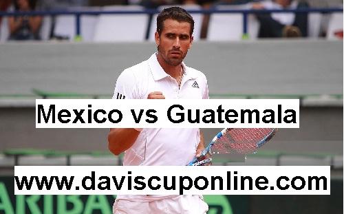 Guatemala vs Mexico 2017 Davis Cup Stream Live