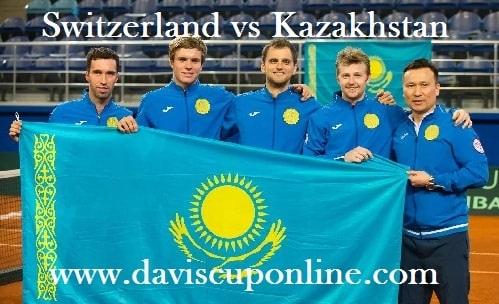 Live Switzerland vs Kazakhstan Davis Cup Stream