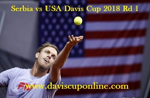Serbia vs Usa Davis Cup Live Stream
