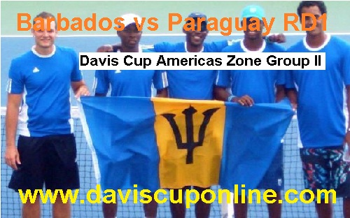 Watch Paraguay vs Barbados Davis Cup Live