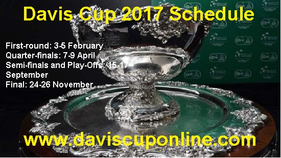 Davis Cup schedule 2017