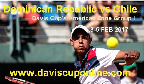 Dominican Republic vs Chile Davis Cup RD 1 Stream Live